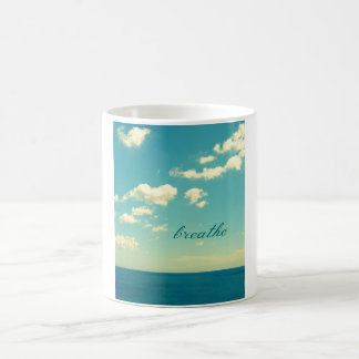 BREATHE OCEAN PHOTO MUG