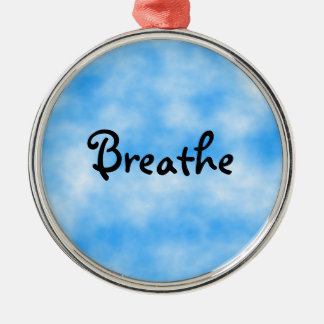 Breathe-ornament Christmas Ornament