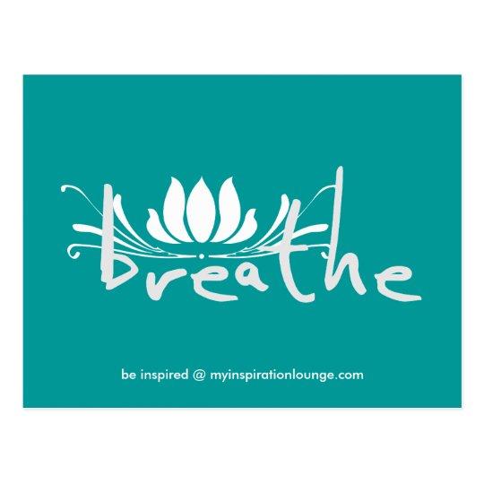 Breathe Postcard