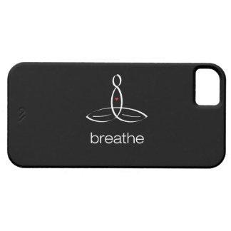 Breathe - White Regular style iPhone 5 Case
