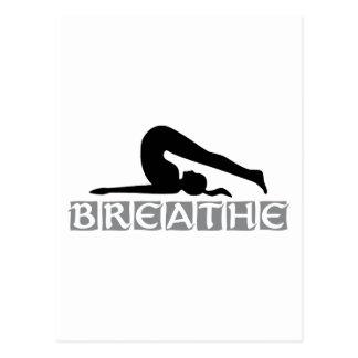 BREATHE Yoga Postcard