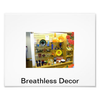 Breathless Decor Image Photograph