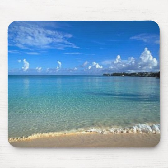 Breathtaking Beach Mouse Mat