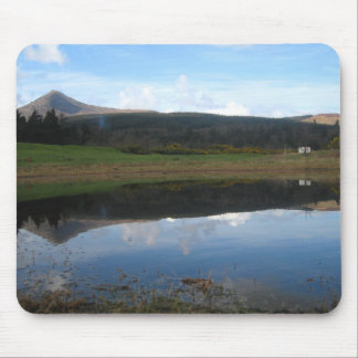 Breathtaking Landscape Portrait of GoatFell Mouse Mat