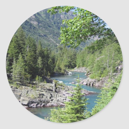 Breathtaking National Forest Stickers
