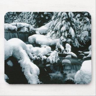 Breathtaking Winter Scene Mouse Pad