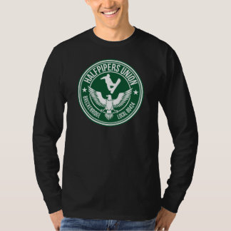 Breck Halfpipers Union Green T-shirts