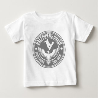 Breck Halfpipers Union Silver Infant T-Shirt
