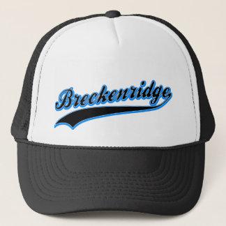 Breckenridge Baseball Logo Hat