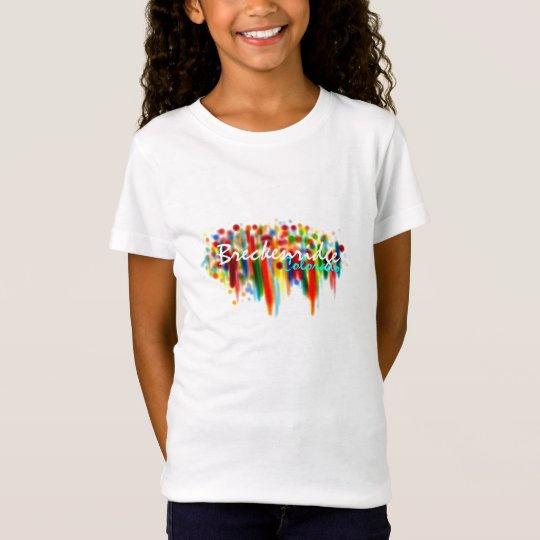 Breckenridge Colorado girls shirt