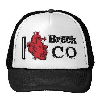 Breckenridge Colorado heart hat