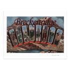 Breckenridge, Colorado - Large Letter Scenes Postcard