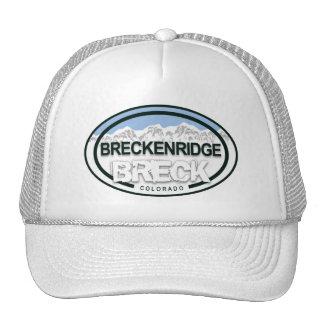 Breckenridge Colorado Mountain Tag Hat