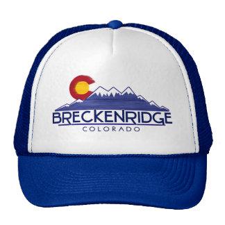 Breckenridge Colorado wood mountains hat