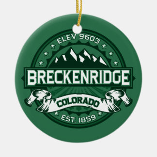 Breckenridge Forest Christmas Ornament