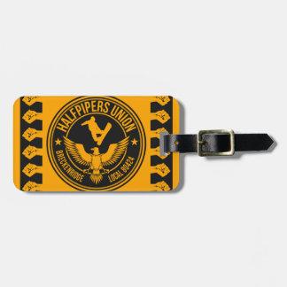Breckenridge Halfpipers Union Gold Bag Tag