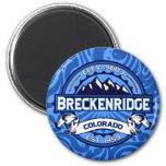 Breckenridge Logo Swirl Magnet