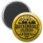 Breckenridge Old Radial Black Magnet