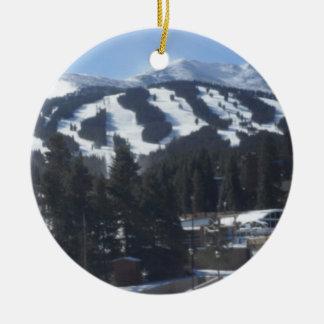 Breckenridge Ski Slopes Ornament
