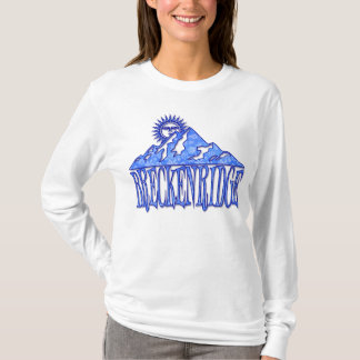 Breckenridge Snowflake Mountain T-Shirt