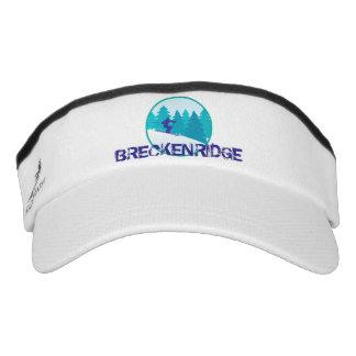 Breckenridge Teal Ski Circle Visor