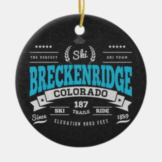 Breckenridge Vintage Mint Christmas Ornament