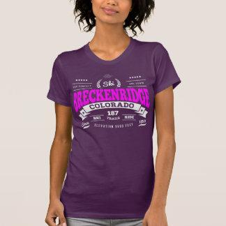 Breckenridge Vintage Raspberry T Shirt