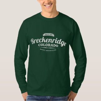 Breckenridge Vintage White T-Shirt