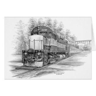 Brecksville Station Train (CVNP) by Kelli Swan Card