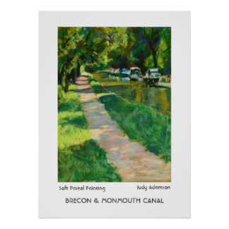 Brecon & Monmouth Canal Print/Poster.