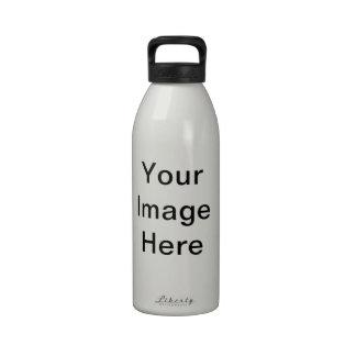 """""""Bred Meli """""""" Ferrol """""""" Spain Desing """" Reusable Water Bottles"""