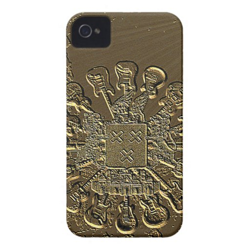 Breda rocks bronzed etching.png Case-Mate iPhone 4 cases