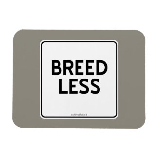 BREED LESS RECTANGULAR PHOTO MAGNET