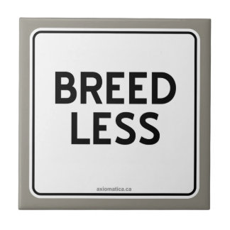 BREED LESS SMALL SQUARE TILE