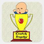 Breeder Award Square Sticker