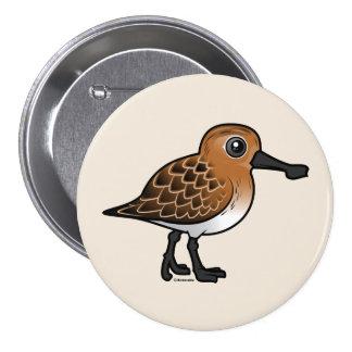 Breeding Spoon-billed Sandpiper 7.5 Cm Round Badge