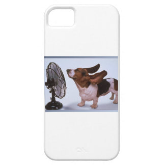 Breeze -Dog and Fan iPhone 5 Case