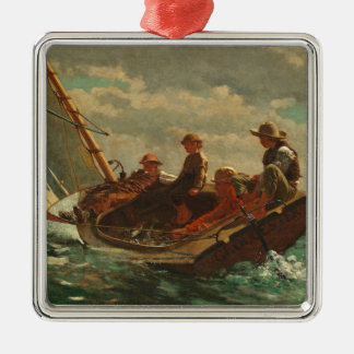 Breezing Up (A Fair Wind) 1873-76 Christmas Ornament