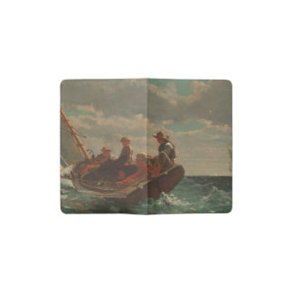 Breezing Up (A Fair Wind) by Winslow Homer Pocket Moleskine Notebook