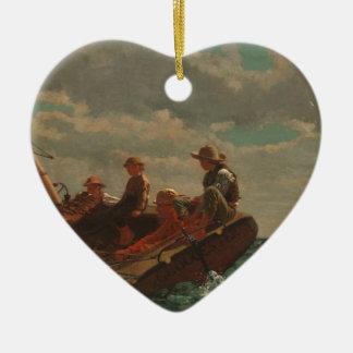 Breezing Up Winslow Homer Christmas Ornament