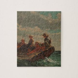 Breezing Up Winslow Homer Jigsaw Puzzle