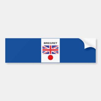 Bregret Bumper Sticker