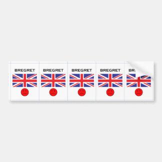 Bregret - So Sad Bumper Sticker
