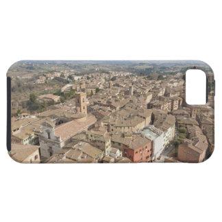 Breiter Schuss der Hügelstadt von Siena, Italien, Case For The iPhone 5