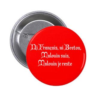 BREIZH BRETAGNE BRITAIN malouin 6 Cm Round Badge