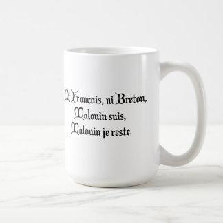 BREIZH BRETAGNE BRITAIN malouin Basic White Mug