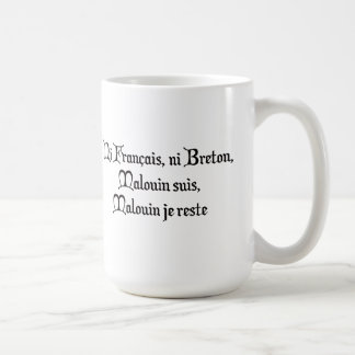 BREIZH BRETAGNE BRITAIN malouin Coffee Mug