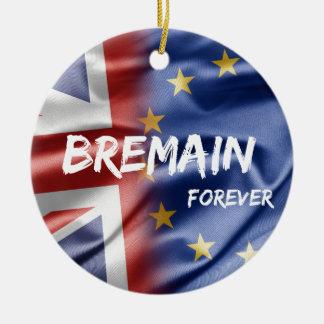 Bremain Forever Round Ceramic Decoration