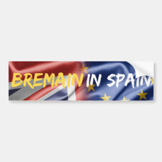 Bremain in Spain bumper sticker