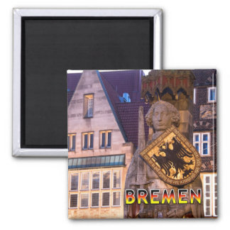 Bremen 01D Square Magnet